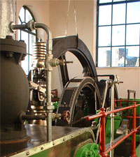 Oak Mount Mill Engine House - open to the public