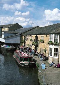 Burnley Wharf in the Weavers' Triangle