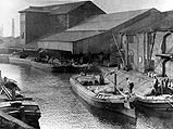 Burnley Canal Wharf c1910